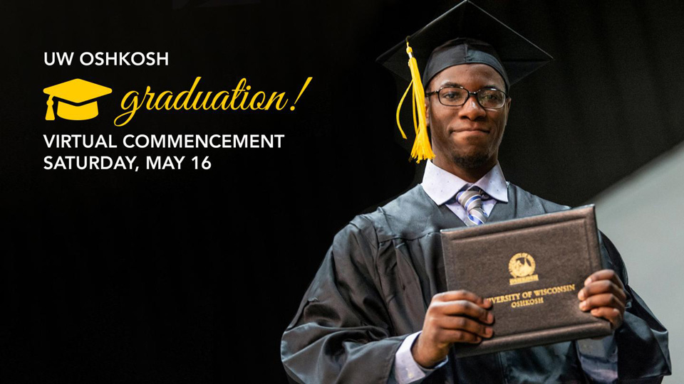 UW Oshkosh's 146th spring commencement to be held virtually May 16