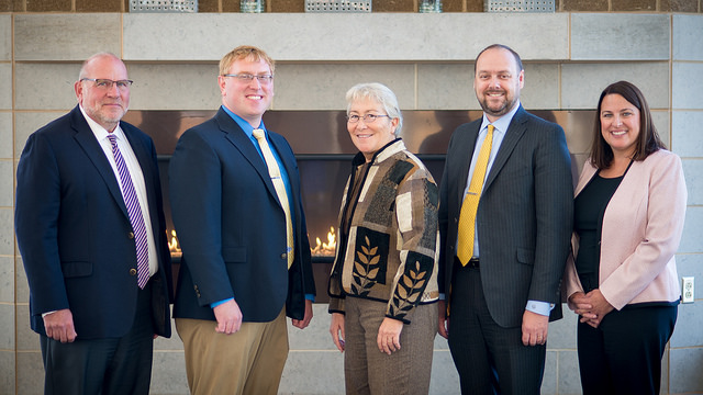 Local leaders recognized as Professors for a Day
