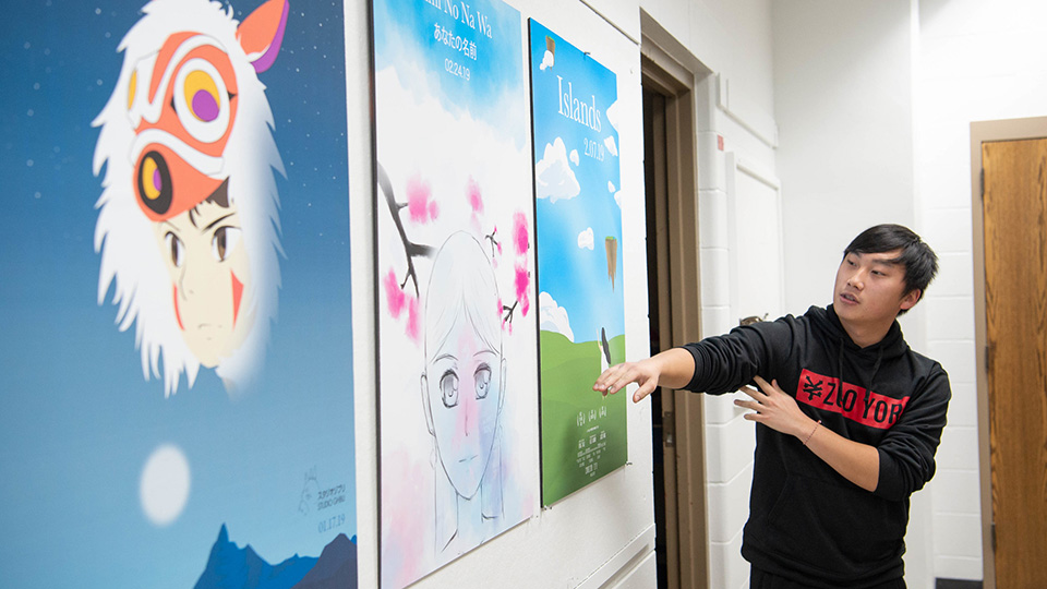 UWO art students, faculty show ability to adapt in unusual spring semester