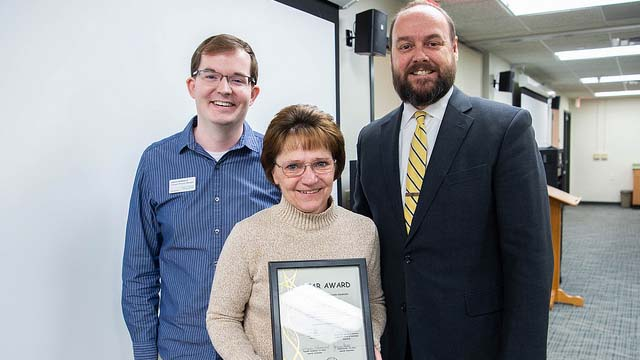 Online and Continuing Ed program assistant earns March STAR award