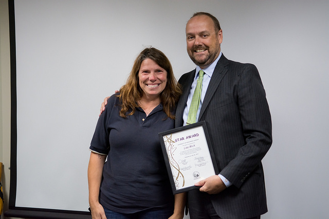 Facilities management supervisor earns August STAR Award