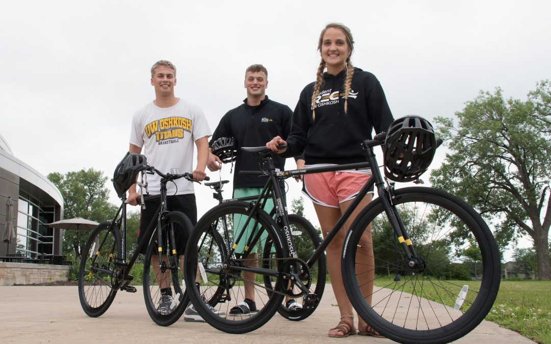 Green Fund effort offers bikes for rent at UW Oshkosh