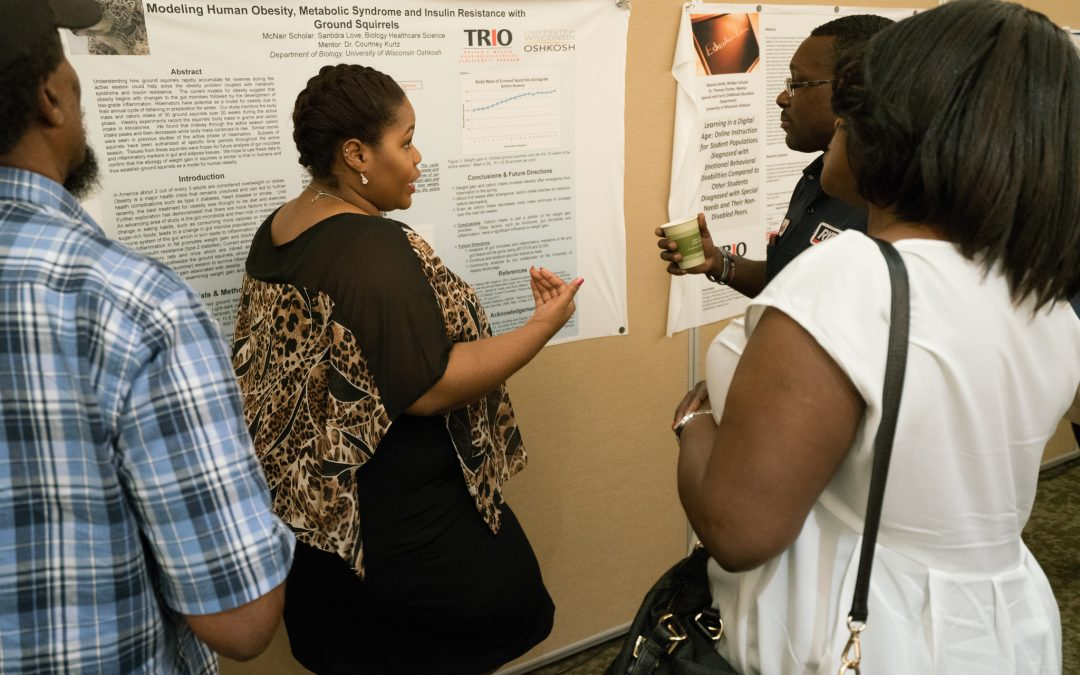 UWO student researchers share projects at McNair Showcase