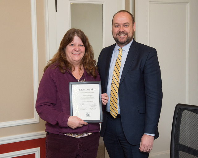 USP scheduling and financial specialist earns March 2018 STAR Award