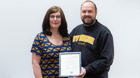Inclusive excellence program associate earns June STAR award