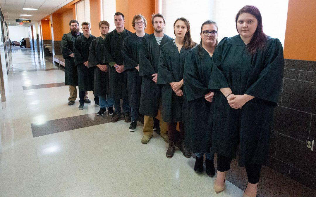UW Oshkosh students ponder real-world issues during International Court simulation