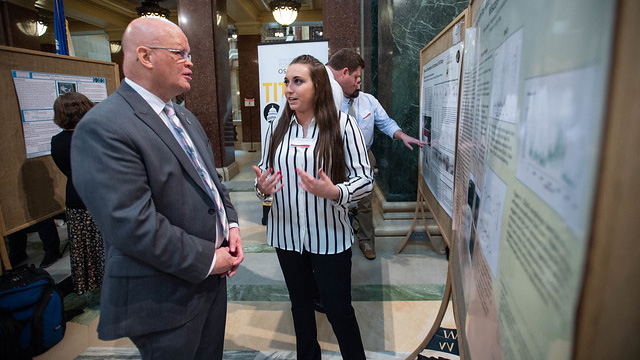 From simulations to syntheses: UWO students share creative, scientific projects at Celebration of Scholarship
