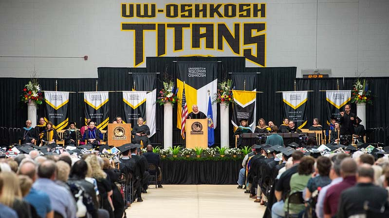 Students from all three UW Oshkosh campuses to take part in one ceremony Dec. 14