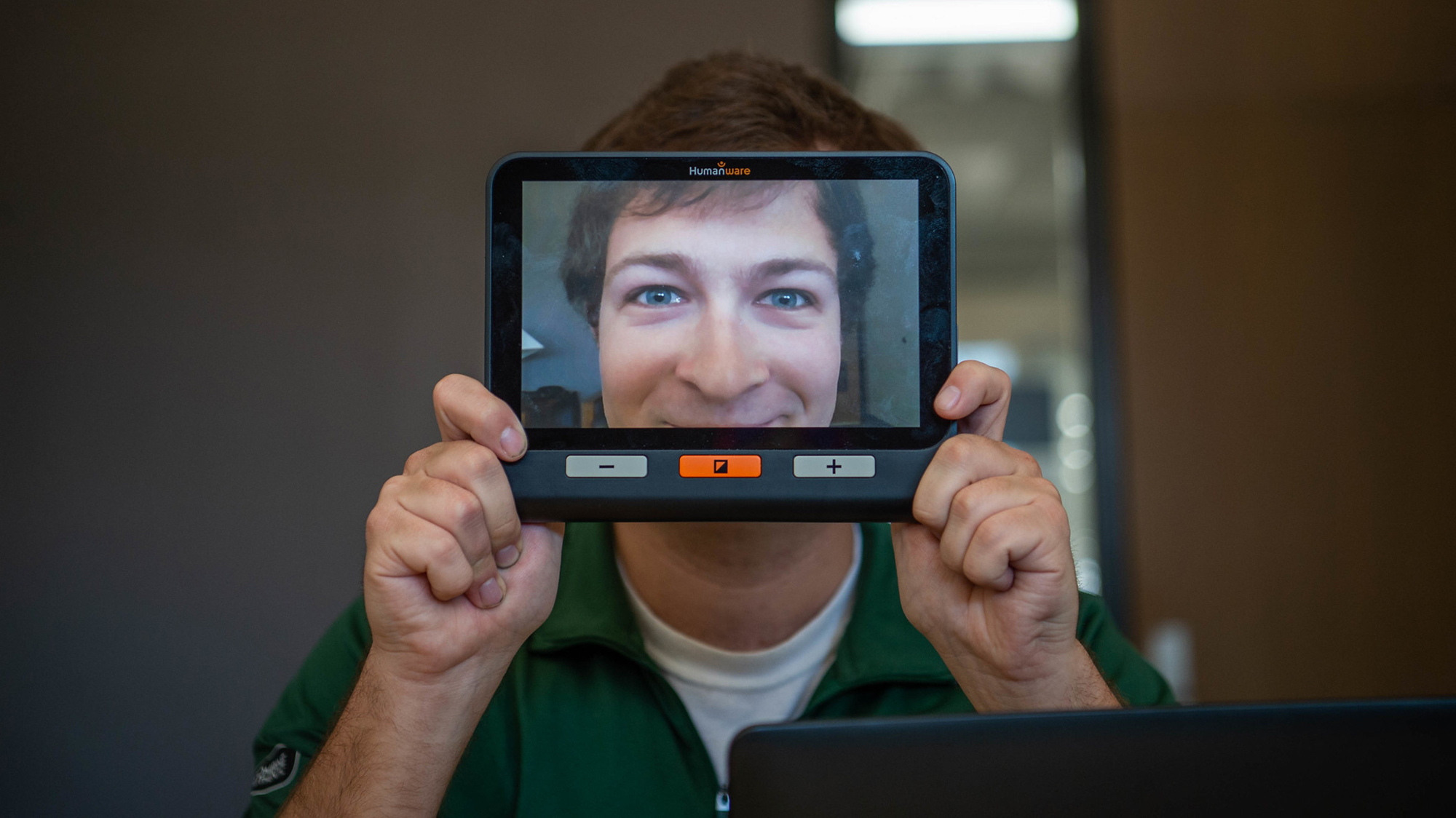 UWO Accessibility Center helps student see past his disability to success