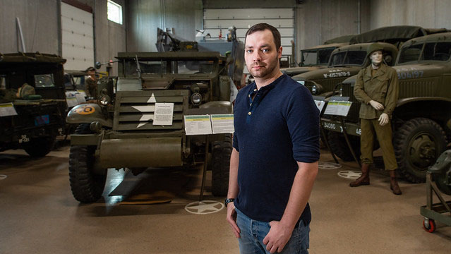 UWO student veteran's love of history put to work at Military Veterans Museum