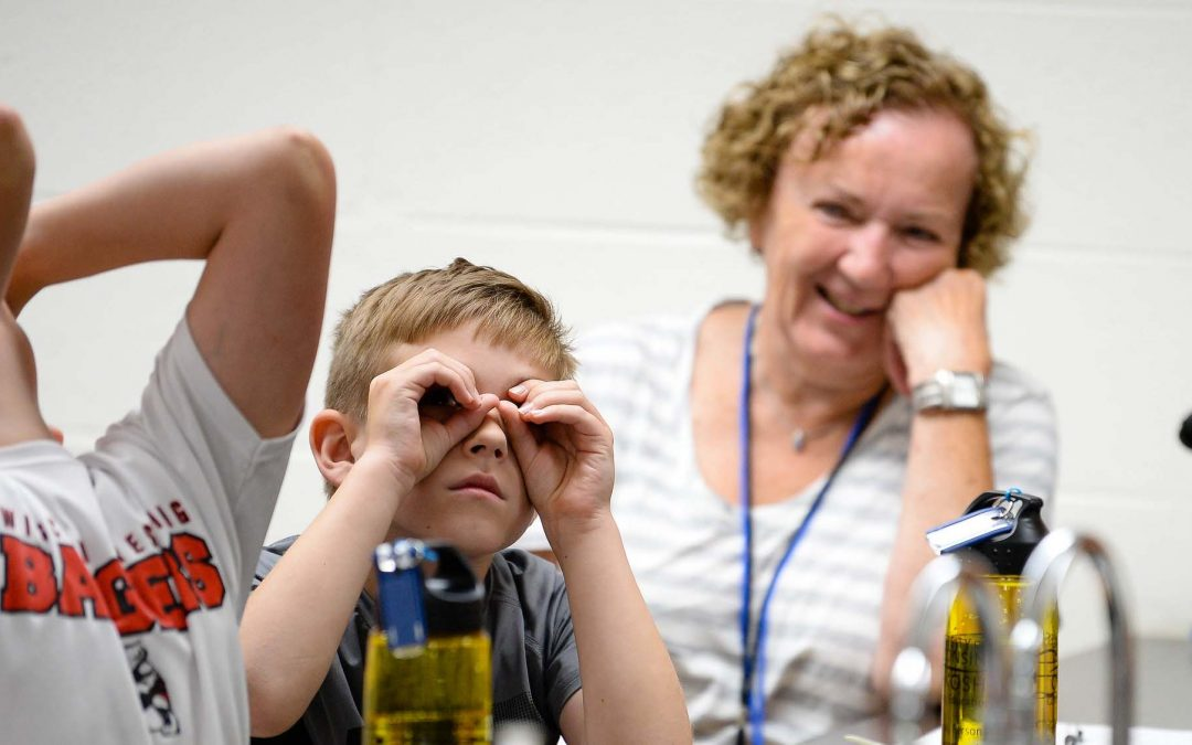 Grandparents and grandchildren graduate from two days of hands-on learning and fun at UWO