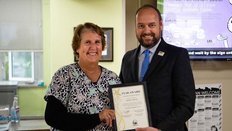 Student Health Center nurse earns October STAR Award