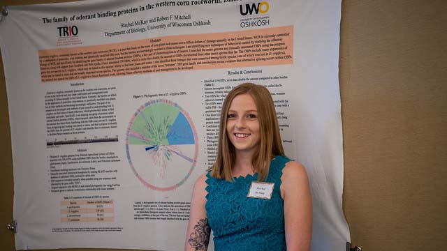 UW Oshkosh McNair Scholars present research at 2019 fall showcase