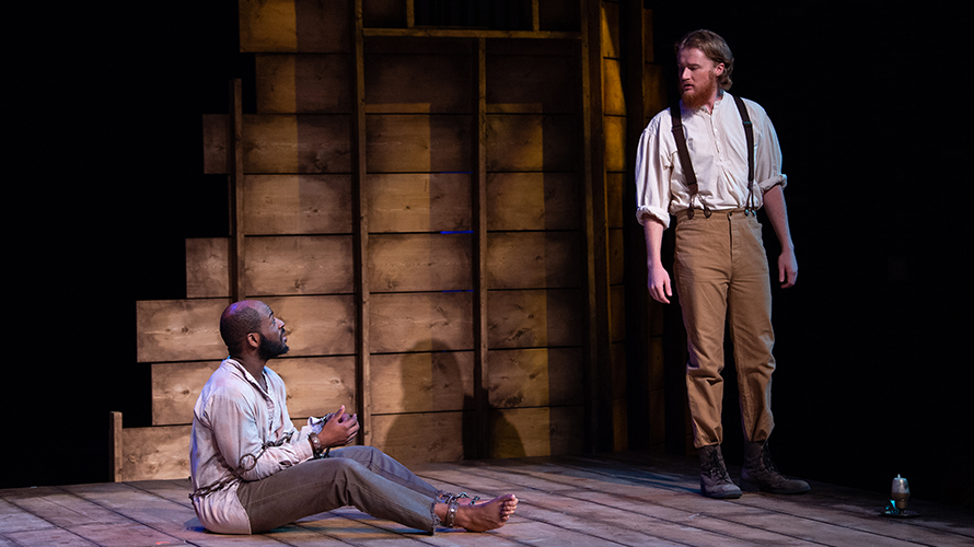 'Nat Turner in Jerusalem' selected to perform at the Kennedy Center American College Theatre Festival