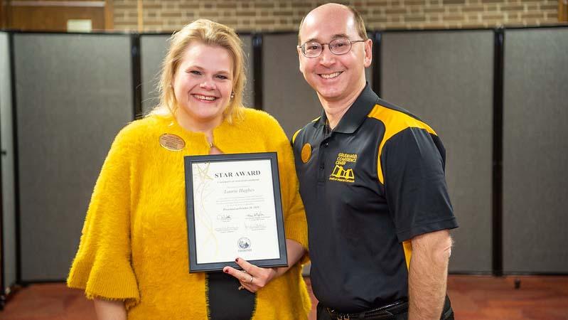 Gruenhagen conference coordinator earns November STAR Award