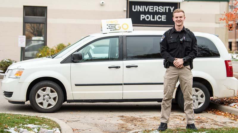 Free UWO GO service provides safe nighttime rides near Oshkosh campus
