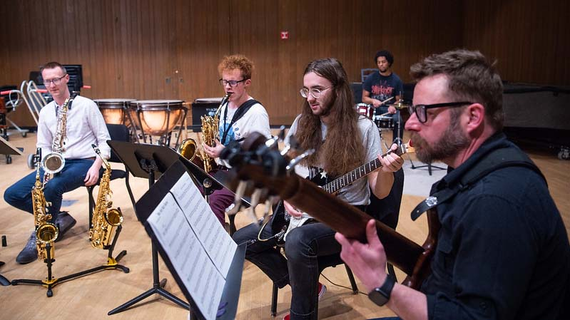 UWO music students, faculty team in unconventional ensemble