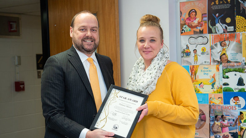 Academic department associate earns February STAR Award