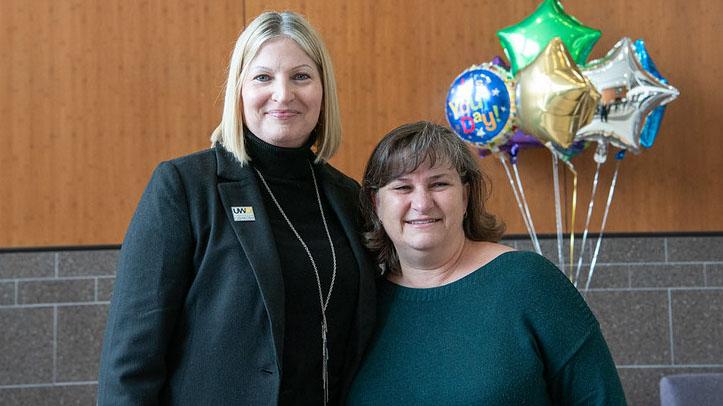 UWO's insurance and risk program director awarded 'shining star' education award