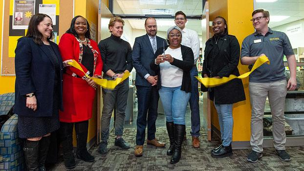 UW System Regent Karen Walsh's family foundation donates to new UWO food pantry