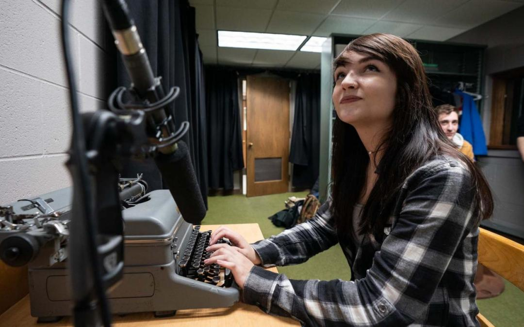 Radio TV film offers students unparalleled access to professional facilities, equipment