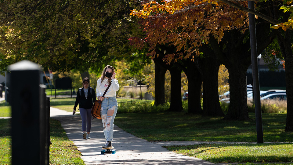 UWO gets creative with fun activities for students despite social distancing