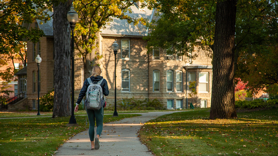 Fall 2020: Scenes from around campus at UWO