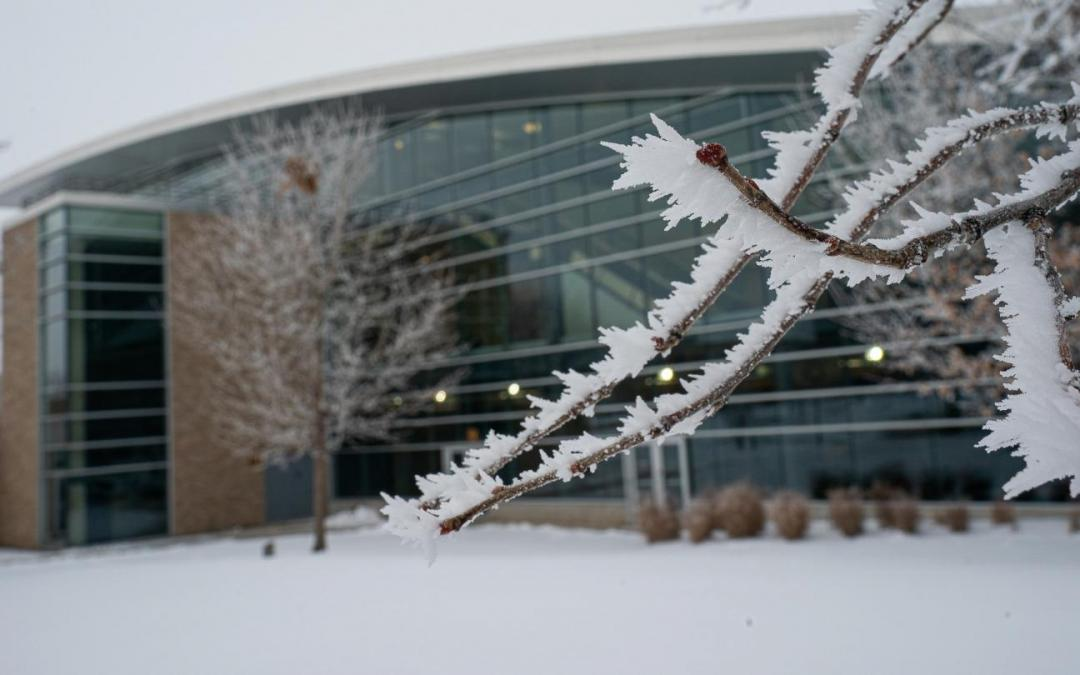 Winter interim begins on a frosty Oshkosh campus