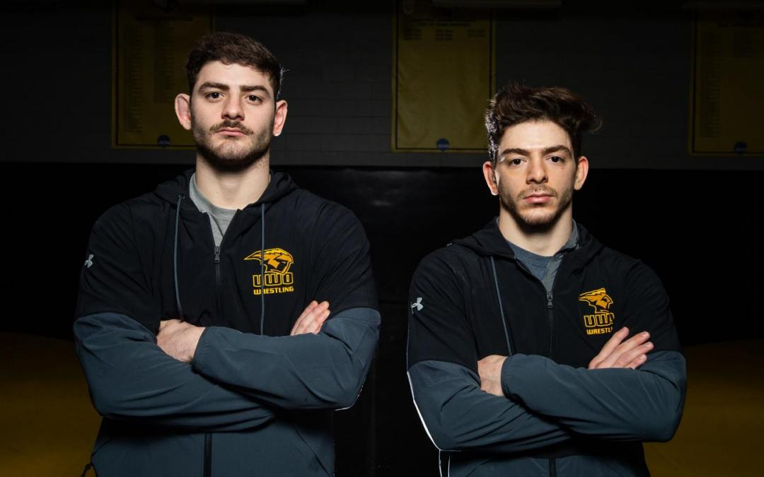 UWO's Alabed twins closing out wrestling career the only way imaginable: together