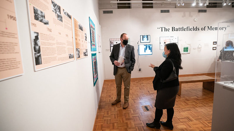'Battlefields of Memory' exhibit highlights Asian Heritage Month at UWO