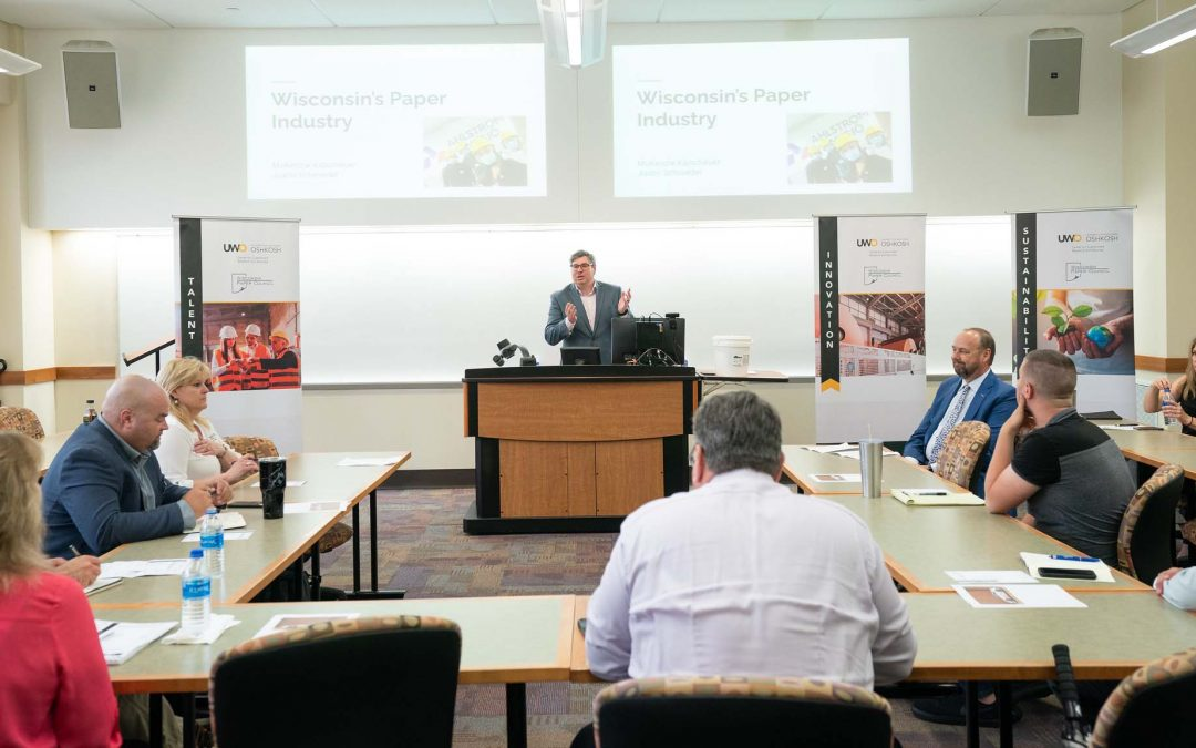 UWO researchers gathering input for comprehensive Wisconsin paper industry study