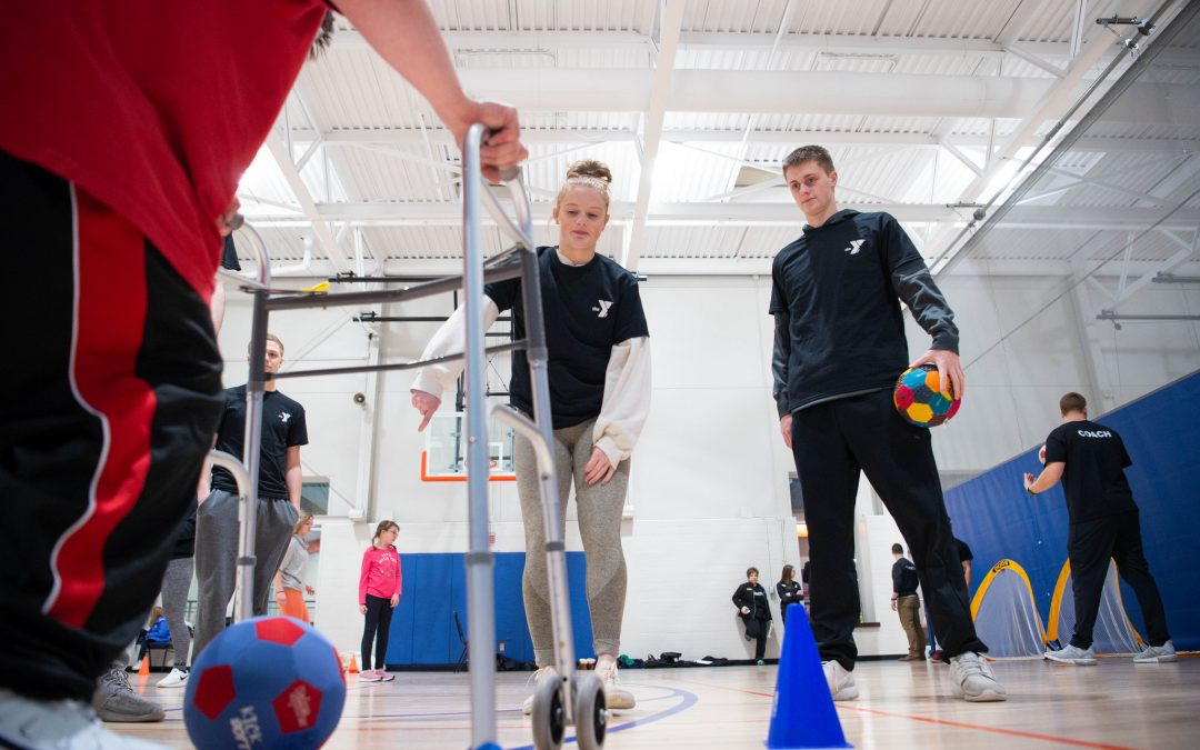 UW Oshkosh students learn about the importance and impact of adapted physical education in schools