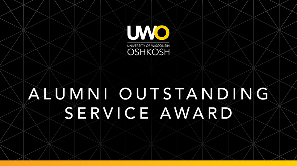UWO Alumni Association announces new award for outstanding service