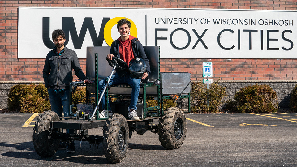 Charged up: Electric vehicle project gets Fox Cities students hands-on experience