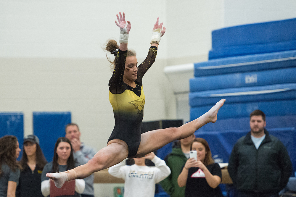 UWO gymnast driven to succeed in athletics, academics