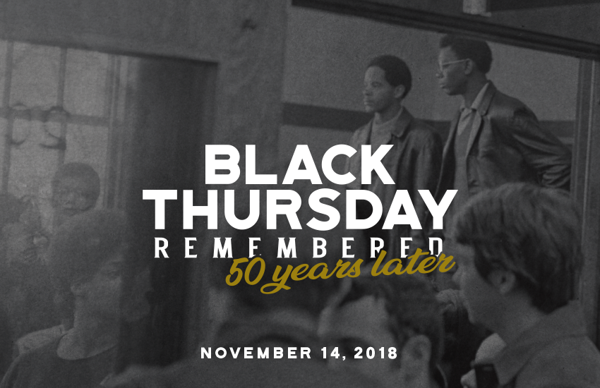 Black Thursday remembered, Oshkosh 94 honored at UW Oshkosh—50 years later