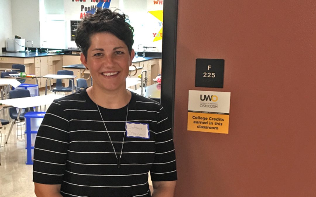 High school classrooms showcase a bit of Titan Pride