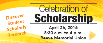 Students to present research, creative projects at Celebration of Scholarship