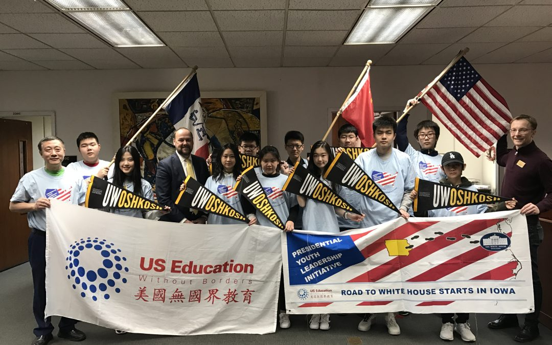 High school students from China visit UWO