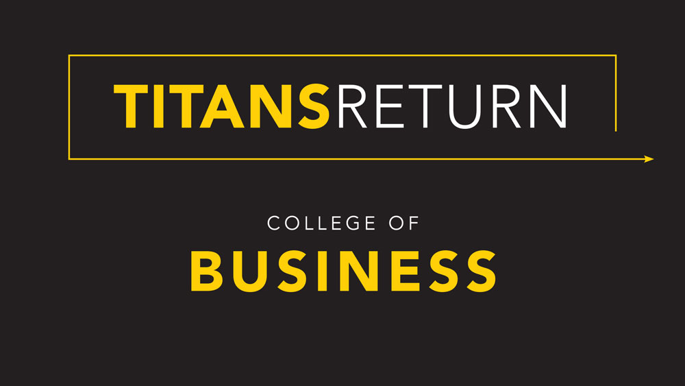Titans Return: College of Business update for fall 2020