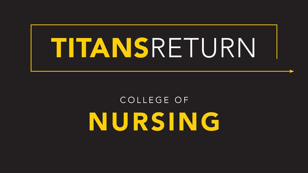 Titans Return: College of Nursing update for fall 2020