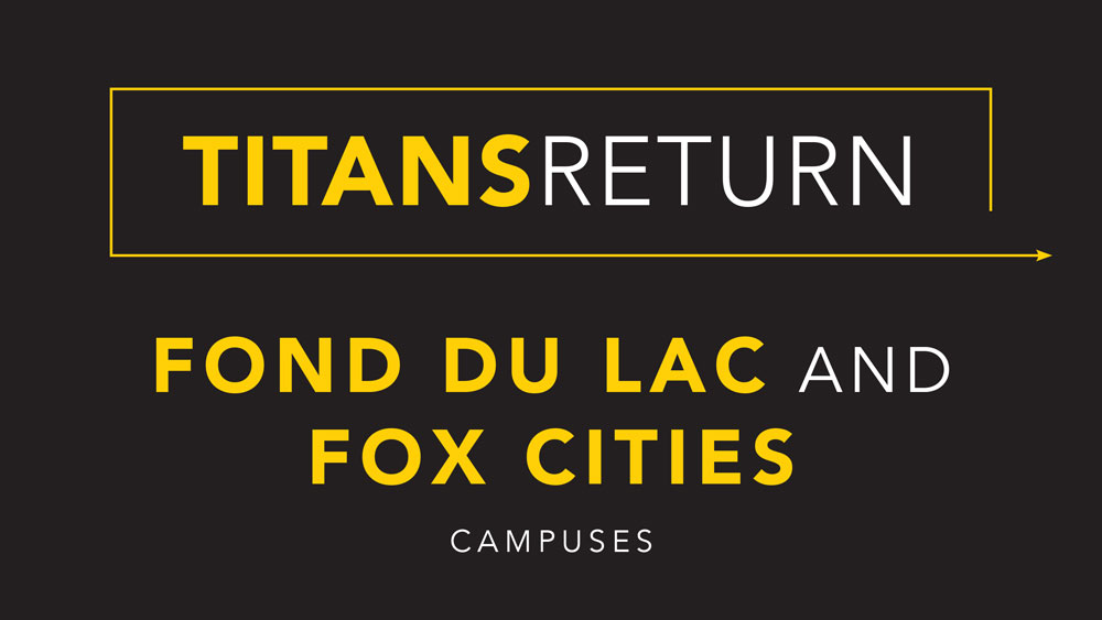 Titans Return: Fond du Lac and Fox Cities update for fall 2020