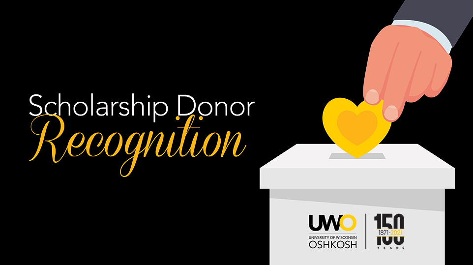 UW Oshkosh thanks donors for 'essential' support to students