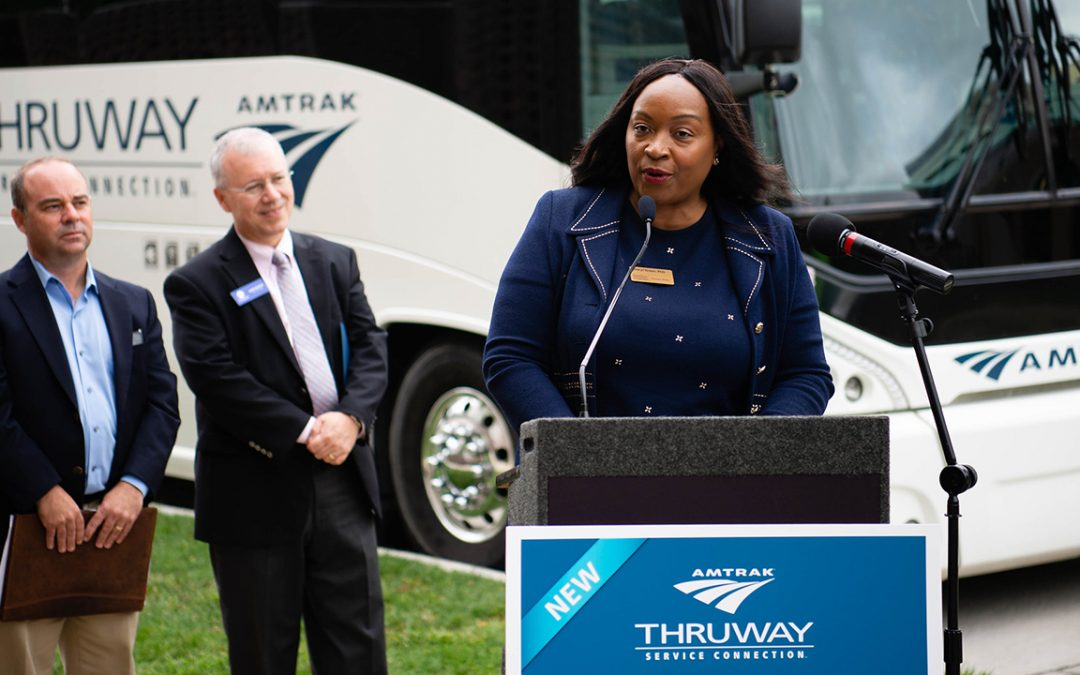 Amtrak bus option available at UW Oshkosh
