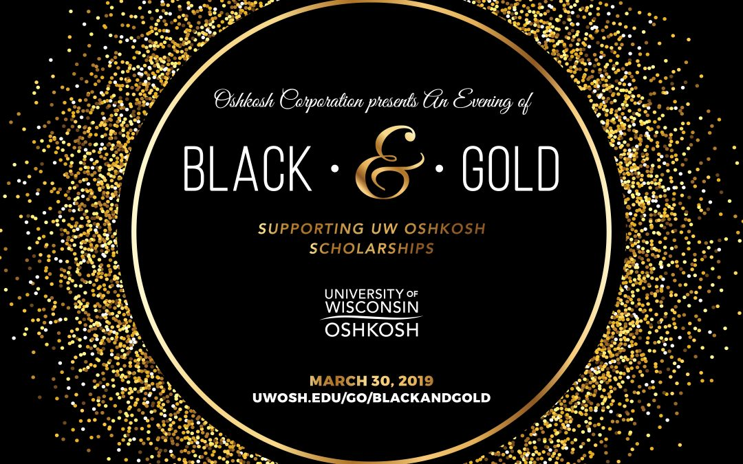 An Evening of Black and Gold to raise money for student scholarships
