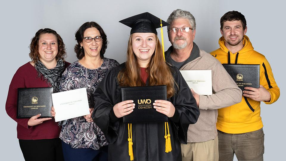 Senior history major is latest in line of UWO grads spanning three generations
