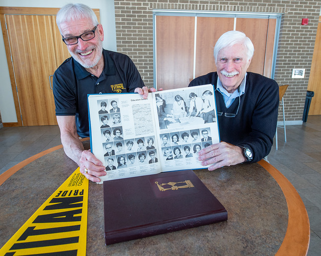 UW Oshkosh Class of 1968 readies for Golden Titan Reunion