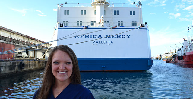 Alumna takes merciful approach to nursing