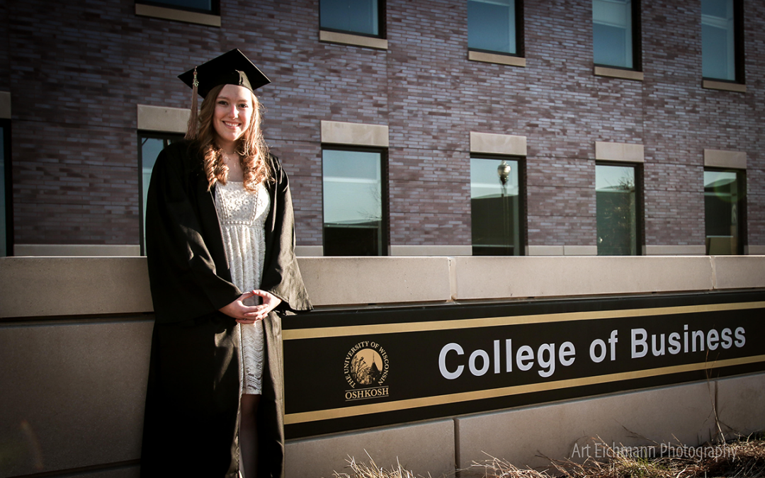 In her own words: Business student's 3-year journey to graduation