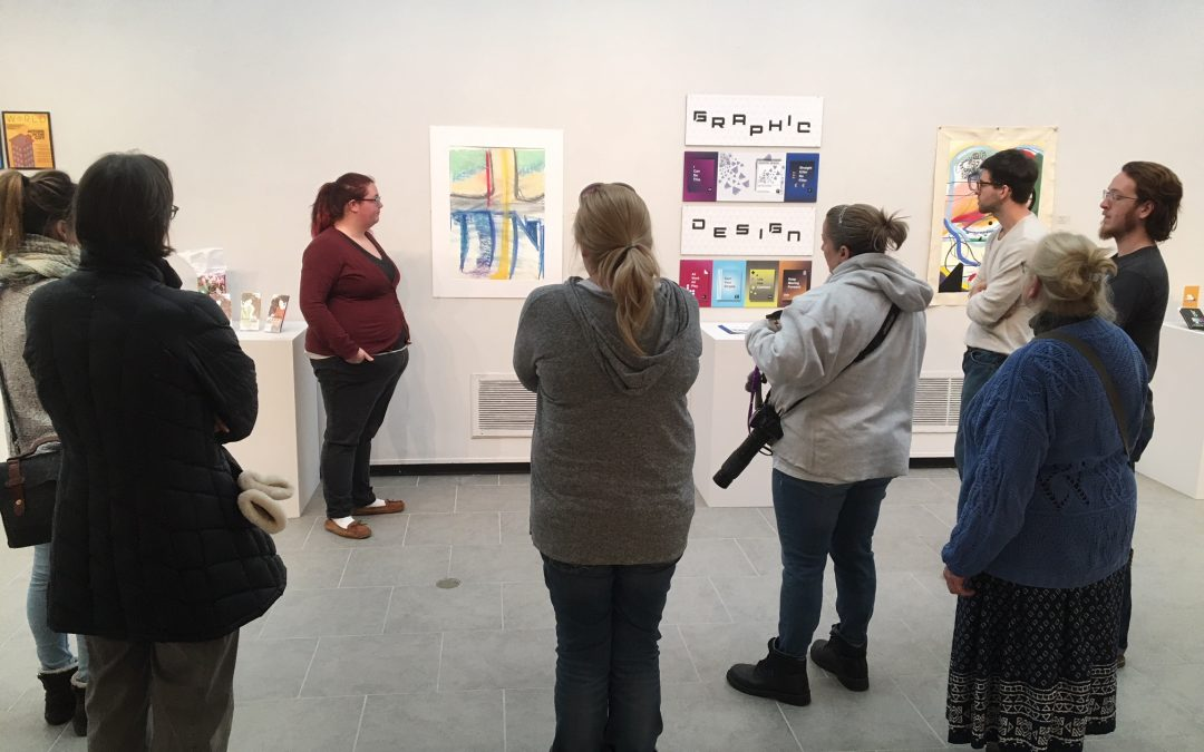 Visitors to UWO Allen Priebe Gallery get taste of creative process at Art Bites event